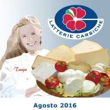 Calendario Latterie Carsiche- Agosto 2016