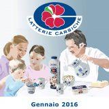 Calendario Latterie Carsiche-Gennaio 2016