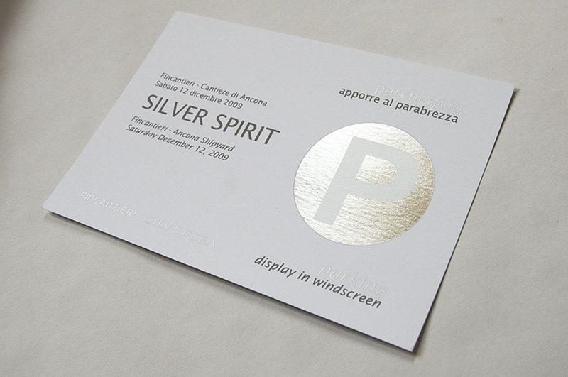 Silver Spirit – invitation